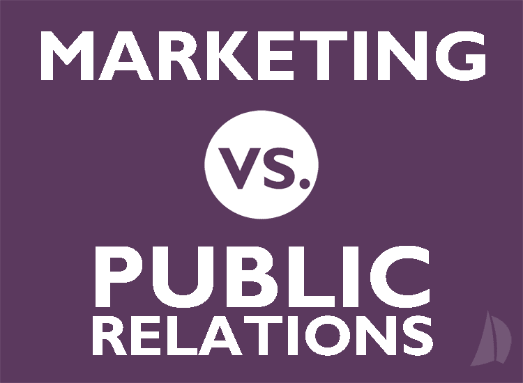The Difference Between Marketing and Public Relations