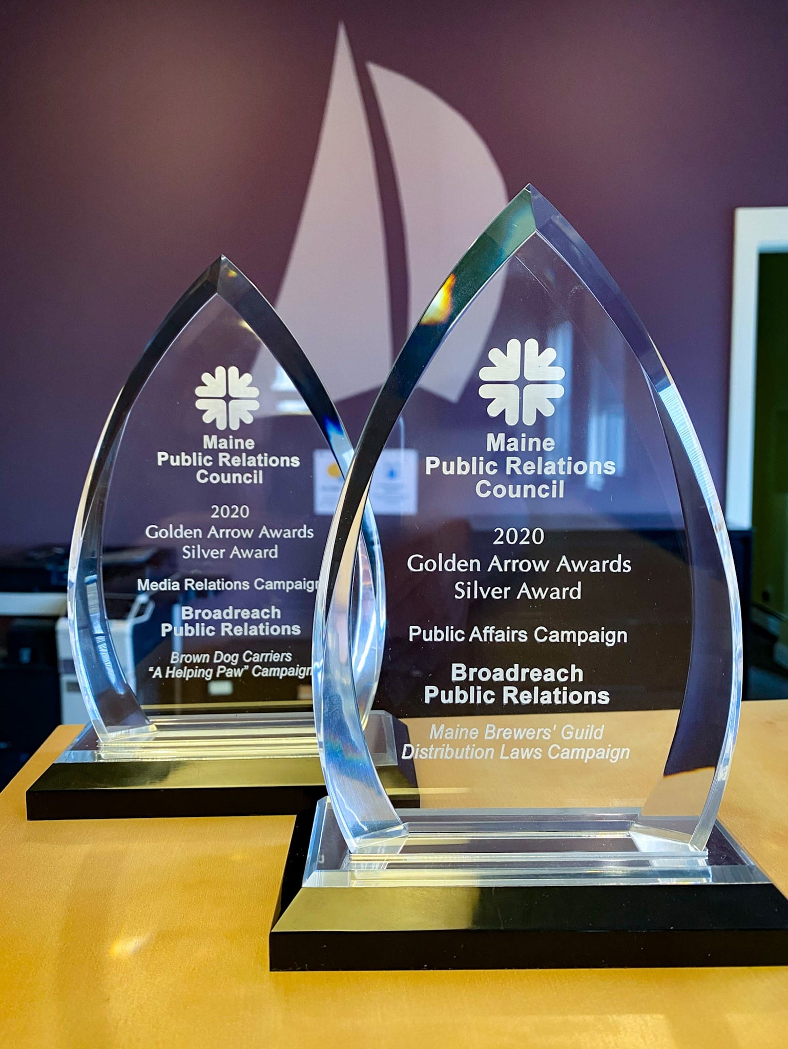 Broadreach Earns MPRC Golden Arrows for Outstanding Public Affairs, Media Relations and Event Services